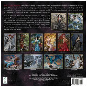 Nene Thomas 2021 Calendar Nene Thomas 2020 Dragon Witch Fairy Calendar   FairyGlen.