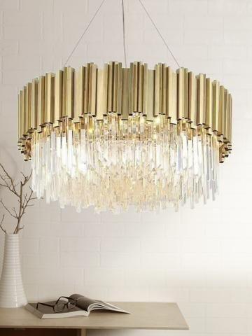 Adele Crystal Chandelier Luxury Chandelier Modern Crystal