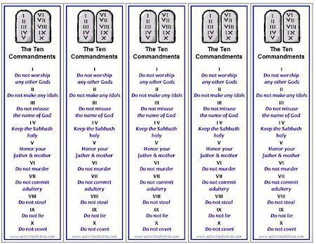 35 best Wonder Kids - Week 5: Ten Commandments & the Tabernacle ...