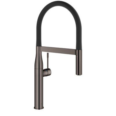 Grohe Essence Single Handle Kitchen Faucet With Silkmove Finish