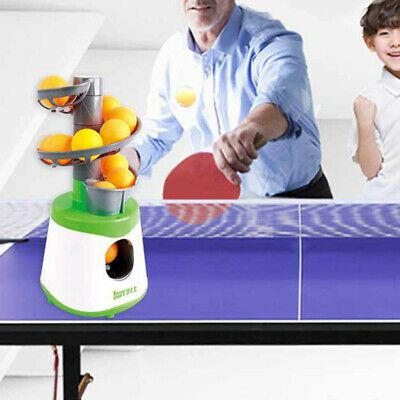 Advertisement Ebay Pong Robots Table Tennis Automatic Ball Machine Professional Training In 2020 With Images Ping Pong Table Tennis Table Tennis Robot Tennis Ball Machines