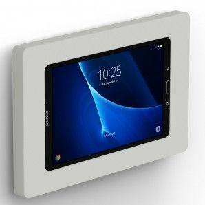 Samsung Galaxy Tab A 10 1 Light Grey Enclosure W Fixed Slim Vesa Wall Mount