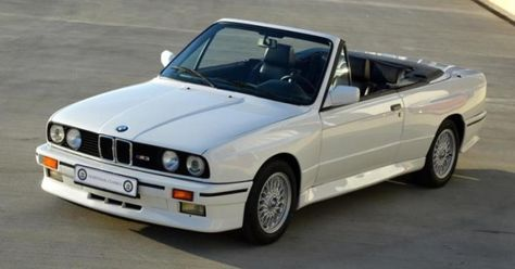 One Of 786 40k Mile 1990 Bmw M3 Convertible