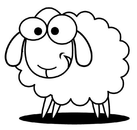 Koyun Keci Boyama Sayfasi Sheep Coloring Pages Fr Ausmalbilder
