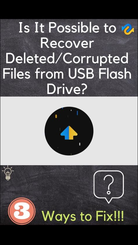 [2021 Solved] How to Recover Deleted/Corrupted Files from USB Flash Drive? 4DDiG