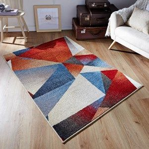 Zante Multi Coloured Rugs 113w120x170cm