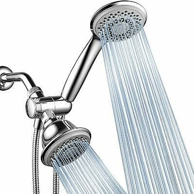 Details About Hand Held Overhead Shower Head Combo Luxury Water