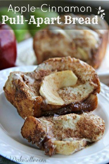 Delicious #breakfast recipe - Apple-Cinnamon Pull-Apart Bread