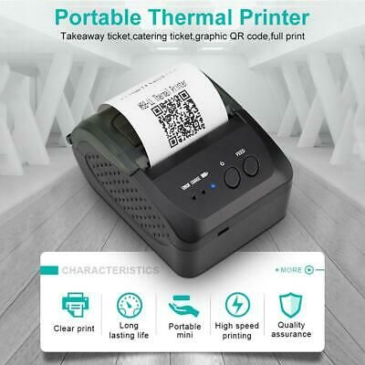Ebay Ad Link Wireless Bluetooth Thermal Printer Portable Pos
