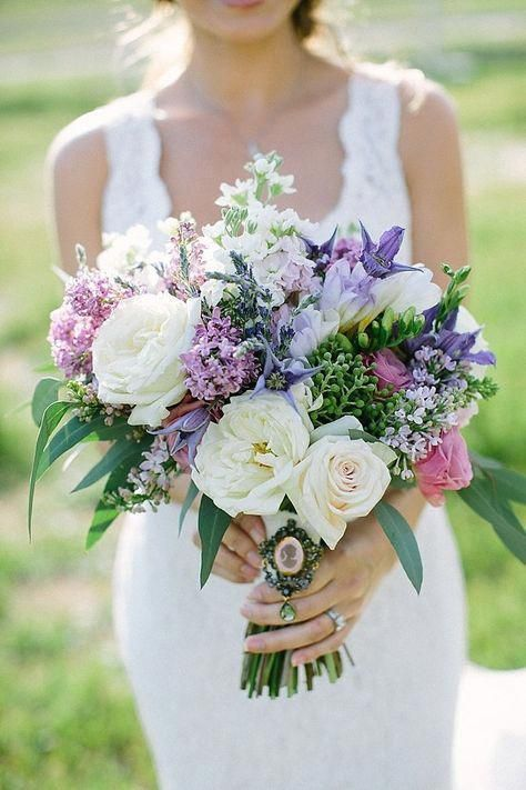 Wedding Flower Meanings And Symbolism Purple Wedding Bouquets Lavender Wedding Bouquet Small Wedding Bouquets