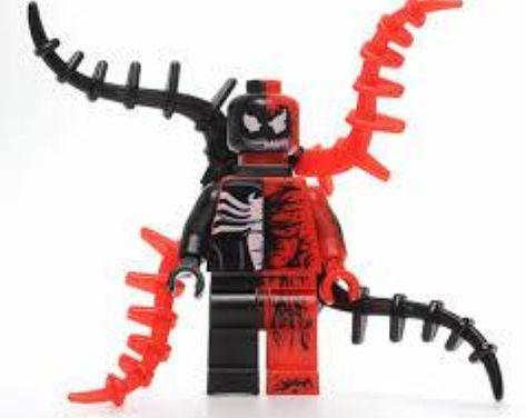 Marvel Comics Spiderman Lego Moc Minifigure Gift For Kids Fear Itself