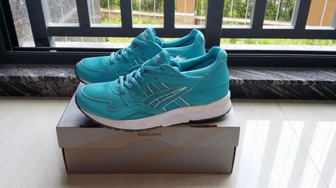Asics Gel Lyte V Mint Leaf Running Shoes For Men Asics Sneakers