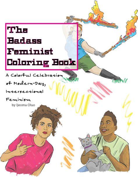 adult coloring craze + feminism   Coloring books, Feminist ...