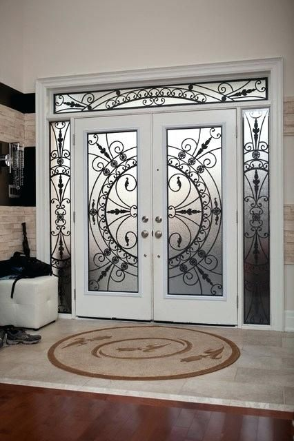 Top 15 Modern Wrought Iron Doors For An Elegant Entry To Your House Interior Design Wrought Iron Front Door Iron Door Design Grill Door Design