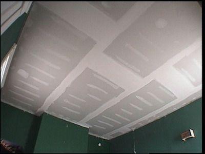 Pose Placo Plafond Refaire Un Plafond Avec Du Placoplatre Pose Placo Plafond Carreaux De Plafond Plafond
