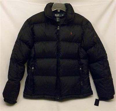 NWT Ralph Lauren Polo Water Repellant Puffer Black Down Hooded Vest Men's  2XB. | POLO Ralph Lauren | Pinterest | Hooded vest