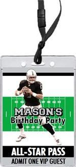 List Of Pinterest Raiders Birthday Party Invitations Pictures