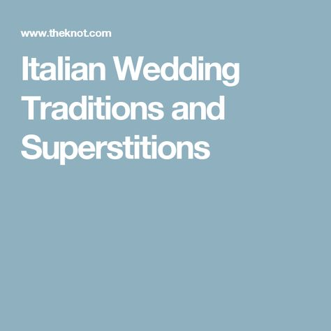Pays italian who wedding for Cost of