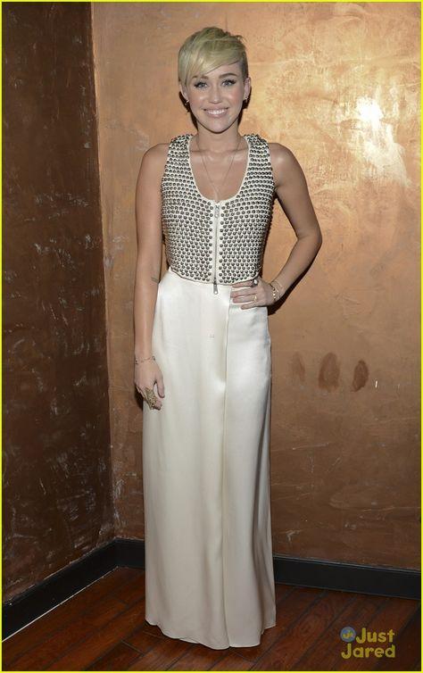 Miley Cyrus. City of Hope Spirit of Life Gala. Los Angeles.