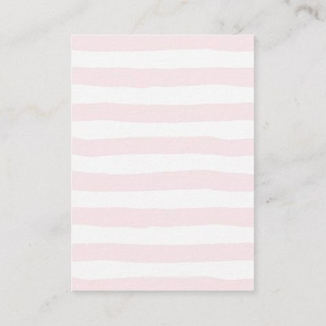 Pink Stripes Books for Baby, baby shower Enclosure Card