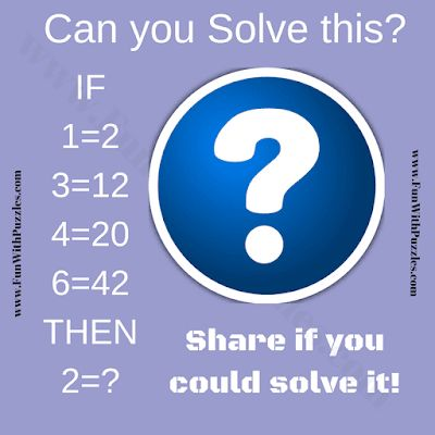 Logic Question Image Puzzle With Answer Logic Questions Math