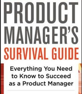 The Product Manager S Survival Guide Pdf Management Books Survival Guide Management
