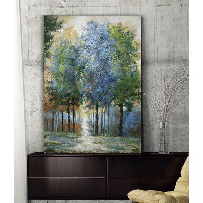 Andover Mills Afternoon Light Oil Painting Print On Wrapped Canvas Size 36 H X 24 W Painting Oil Painting On Canvas Landscape Paintings