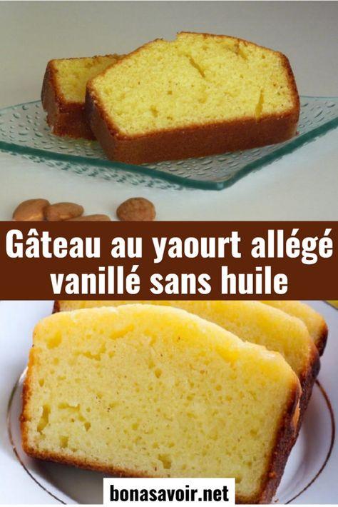 Gâteau au yaourt allégé vanillé sans huile – Page 2 – Bon À Savoir