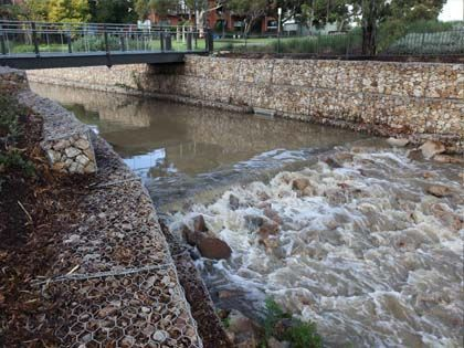 River Training River Wall And River Right Of Way Gabion Retaining Wall Gabion Wall Diy Concrete Planters