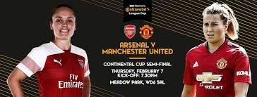 Arsenal Women Vs Manchester United Women Tv Channel Team News