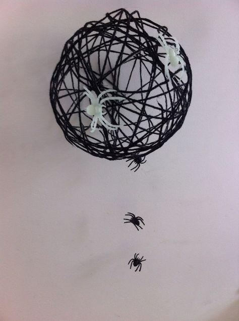 Spinnen!