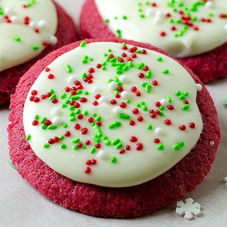Red Velvet Sugar Cookies Recipe