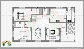 2400 Square Feet 4 Bedroom House Plan And Elevation Can Construct In 3 5 Cent Or 4 Cent Hous Bedroom House Plans Four Bedroom House Plans 4 Bedroom House Plans