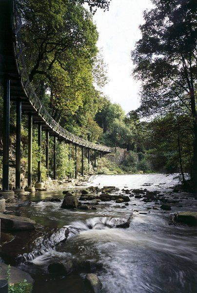 Take a look at the 'Millennium Walkway, Derbyshire K031256 - MILLENNIUM WALKWAY, New Mills, Peak District, Derbyshire' prints from Historic England. Fast & Safe Delivery