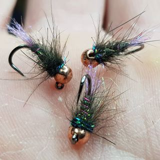 Been A Great Little Jig Pattern For Me Over The Years As It Takes It S Fair Share Of Both Trout Grayling These Are Tied On The New Hanak H490bl J Ninfas