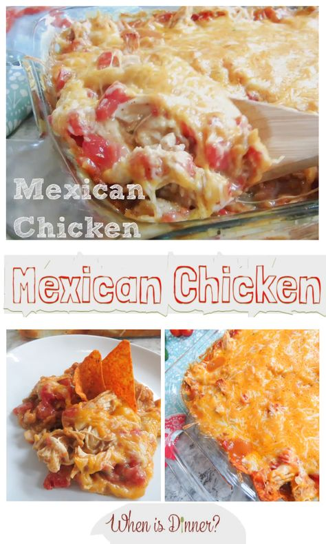 Mexican Chicken Casserole is a family favorite, and we rarely have leftovers!