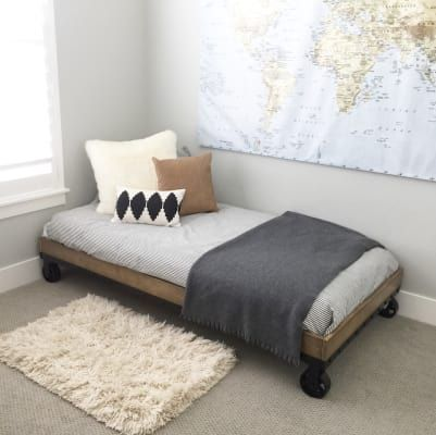 Belham Living Merced Daybed Washed Gray Quality Furniture Daybed Bed Frame