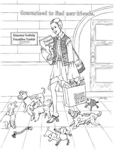 Humane Society Illustration Dogs In 2020 Humane Society Humane Society Dogs Dogs And Kids