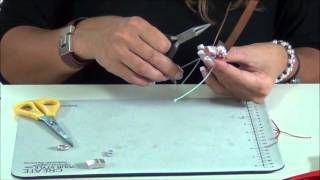 Collar de gamuza y mariposa de ceramica - YouTube