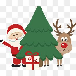 크리스마스 나무와 산타클로스 나무 클립 아트 크리스마스 사진 창조적 인 크리스마스무료 다운로드를위한 Png 및 Psd 파일 크리스마스 크리스마스 트리 크리스마스 그림