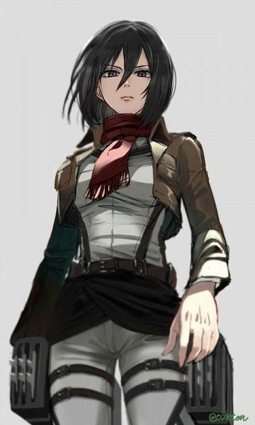 Mikasa Ackerman Kyojin Shingeky Shingeki No Kyojin 2