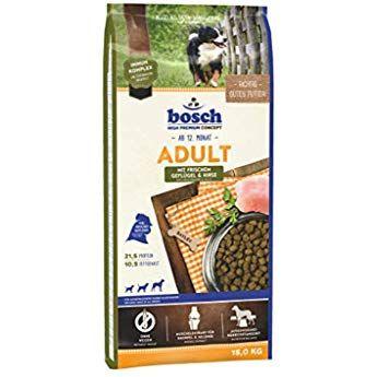 Bosch Hpc Adult Mit Lamm Reis Hundetrockenfutter Fur Ausgewachsene Hunde Aller Rassen 1 X 15 Kg Amazon De Haustier In 2020 Hunde Hunde Futter Hunde Erziehen