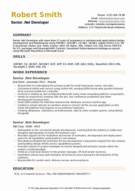 Net Resume Samples New Senior Net Developer Resume Samples Resume Examples Job Resume Examples Resume Summary Examples