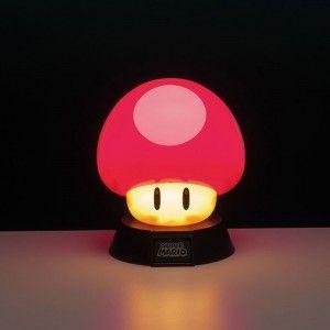 Lampe 3d Nintendo Super Mario Power Up Mushroom Lights Super Mario 3d Light