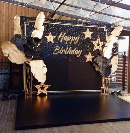 New Birthday Decorations Black Gold Wedding Ideas Ideas 60th