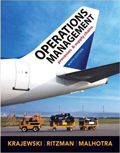 Instructor S Manual Solution Manual For Title Operations Management 9th Edition Edition Author S Lee J Kraj Operations Management Test Bank Management