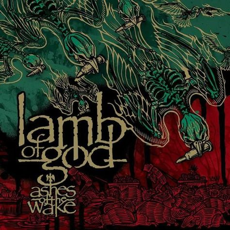 Lamb of God Ashes of the Wake Music Album Cover Poster Art Silk Print Home Decor 12×12 – 27×27 inch