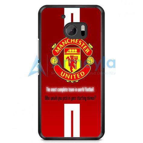 Manchester United Logo HTC One M10 Case | armeyla.com