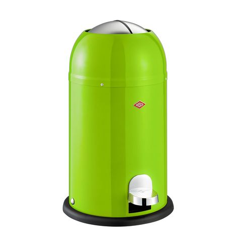 Wesco Pedaalemmer Rood.Kickmaster Junior 15l Lime Green Perfect For Smaller