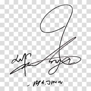 Bts Signature Wiki Singer Love Yourself Her Others Transparent Background Png Clipart Bts Signatures Clip Art Bts Jimin